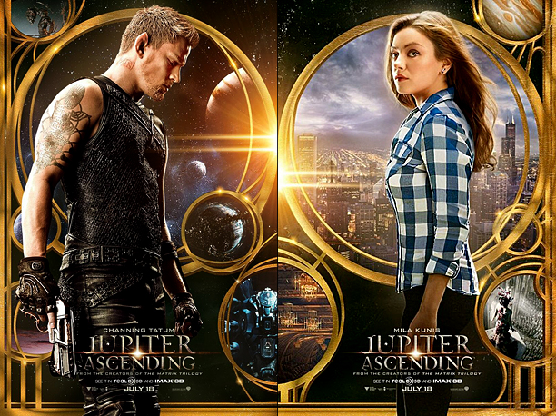 Nobody expects a simple pitch from the Wachowskis. So if the two character posters for Jupiter Ascending make it look like an unfinished Roger Zelazny…