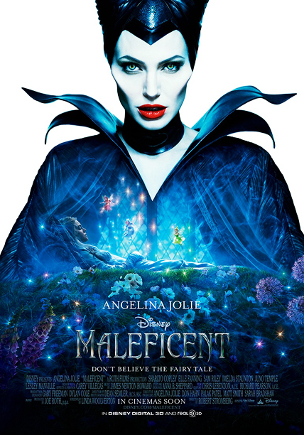 The top half of this poster is just perfect, with Jolie cast in pale horror-movie monochrome with a few Sin City -esque splashes of color.…