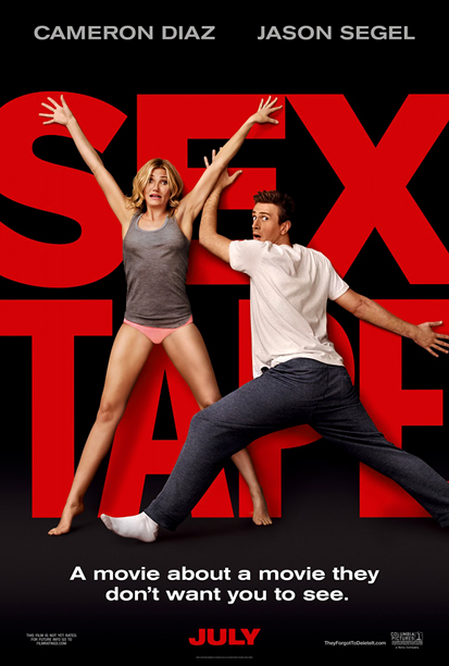 Comedy Posters of 2014: Huge Concept Title, Stars Making Wacky Faces. Diaz and Segel's desperation to cover up the title is a nice touch, though.…