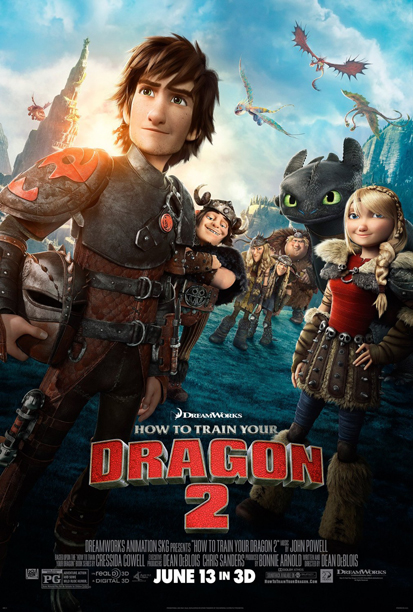 The Sequel-As-Character-Roundup. Looks pretty, nice to see the lead character slightly-more-grown-up. Demerit: Everyone besides the girl is doing some variation on the Dreamworks Face. B