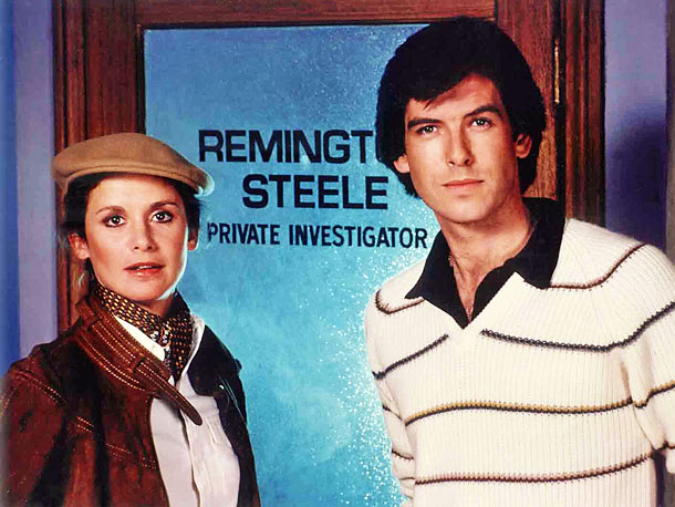 Remington Steele (1982-1987) It's a man's world, which is why private eye Laura Holt let a mysterious man (Brosnan) assume the role of the fictitious,…