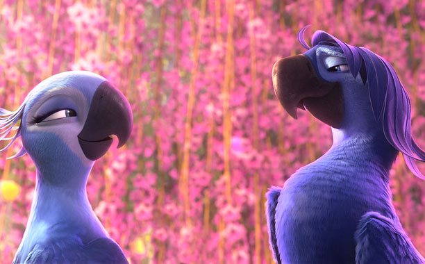 BIRDS OF PARADISE Blu (Jesse Eisenberg) and Rio (Anne Hathaway) are headed to the Amazon in this animated sequel.