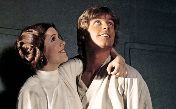 Mark Hamill, Carrie Fisher, ...