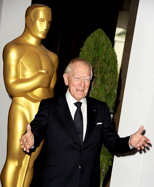 Max von Sydow   Perhaps it's his resemblance to the late Alec Guinness, but the 85-year-old Swede seems like the ideal old-school legend to lend the new Star Wars…