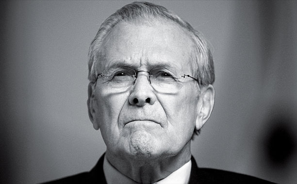 KNOWING NOTHING Despite unprecedented access to Donald Rumsfeld, director Errol Morris fails to create a truly engrossing film.