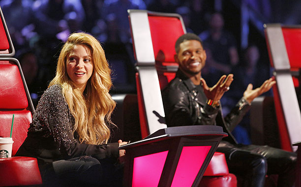 The Voice Usher Shakira