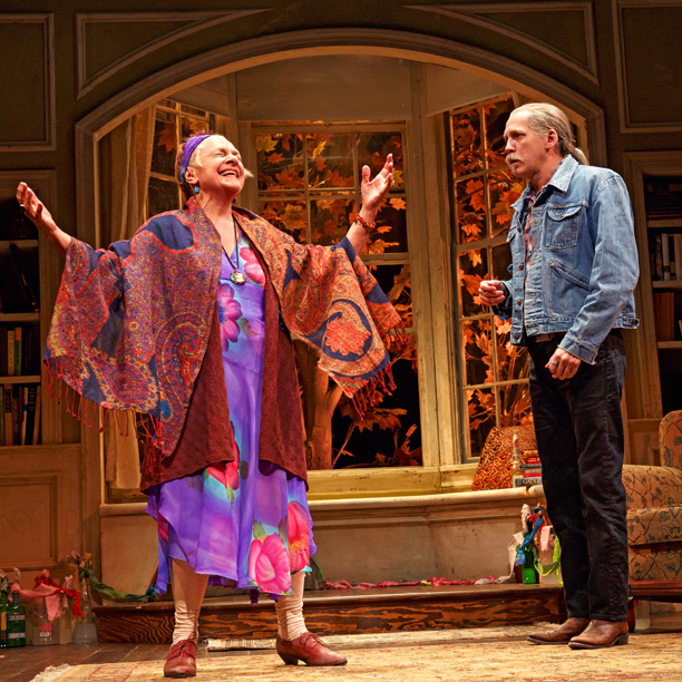 THE VELOCITY OF AUTUMN Estelle Parsons and Stephen Spinella