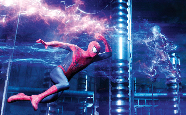 SPIDERMAN, SPIDERMAN DOES WHATEVER ANDREW GARFIELD CAN Garfield reprises his role as Peter Parker from the 2012 reboot.