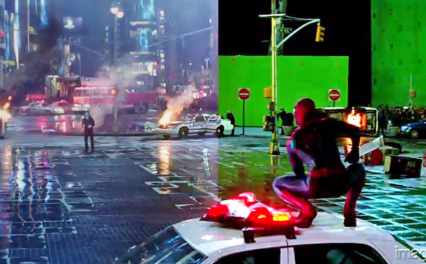 Amazing Spider Man VFX Times Square 01