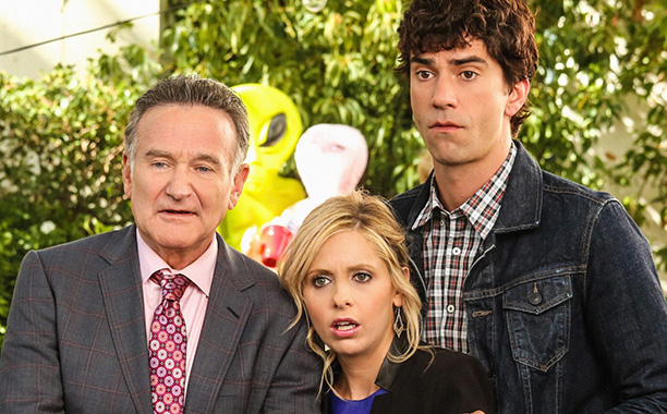 Robin Williams, Sarah Michelle Gellar, and Hamish Linklater on The Crazy Ones