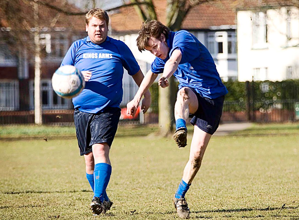 Matt Smith | As a teenager, Smith dreamed of playing soccer professionally (he's shown, above right, in a 2010 episode of Doctor Who ). Smith was picked for…