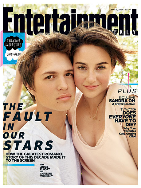 The Fault in Our Stars, Shailene Woodley | For more on the big-screen adaptation John Green's YA favorite, pick up EW on newsstands or buy a copy now .