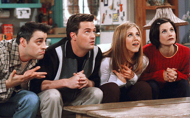 Friends | Apartment Bet (shown) The high-stakes trivia game played during season 4, when Monica and Rachel's complete lack of knowledge of Chandler's profession (see ''T'') cost…