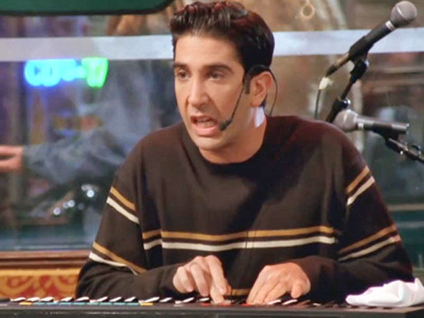 Friends   Ken Adams Joey's alter ego (see ''R'' for Phoebe's). Keyboard (shown) As we saw a few times during the series, Ross knows his way around…