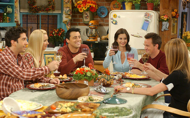 Friends   Teeth Remember that time Ross's were way too white? ''Thank you'' Emily says these two little words to Ross after he tells her he loves…