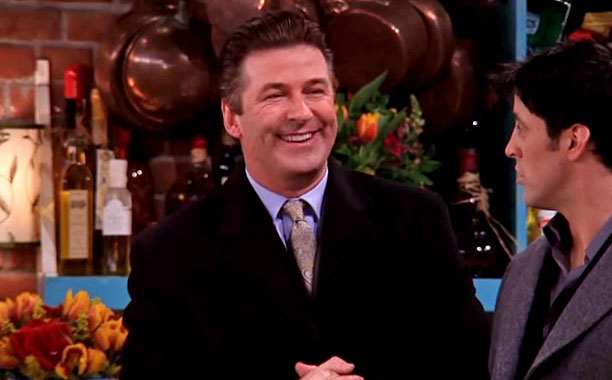 Friends   Zesty Guy Phoebe's boyfriend Parker (Alec Baldwin), who is annoyingly excited about everything.