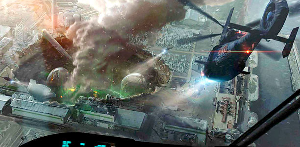 Godzilla Art Of Destruction Page 72 73