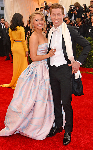 Hayden Panettiere and Shaun White