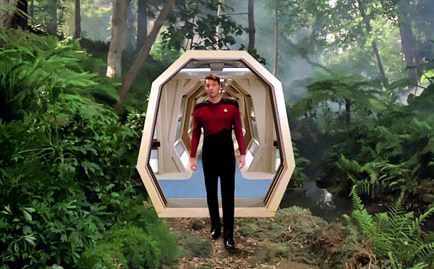 The holodeck keeps the crew happy. But beware of ''holodiction''!