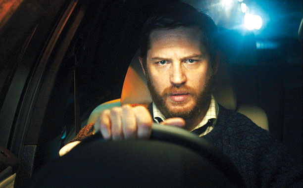 LOCKED AND LOADED Tom Hardy is phenomenal as the titular character in Locke .