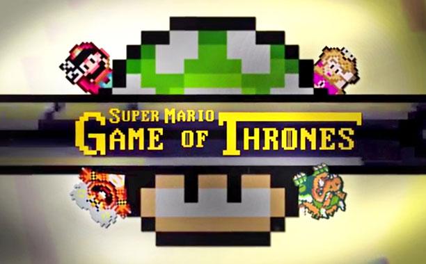 Mario Video Game Of Thrones