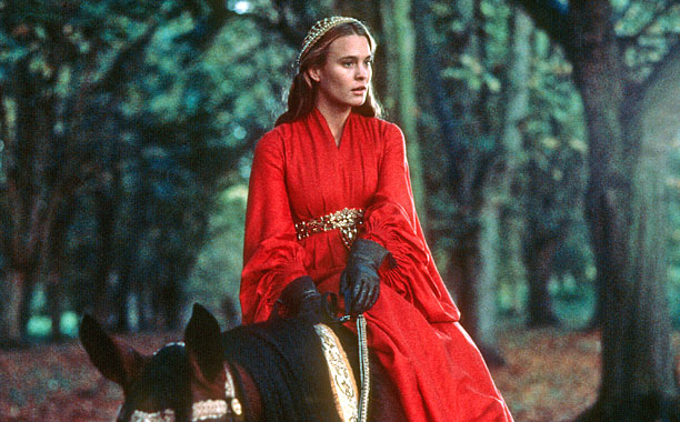 TV Triumph: Santa Barbara Film Follow-Up: The Princess Bride Wright's re-introduction as the elegant yet feisty Princess Buttercup was just as fans of Kelly Capwell…