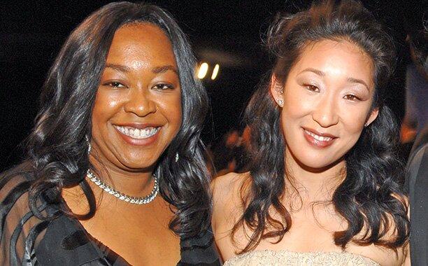 Shonda e Sandra, de Grey's Anatomy.