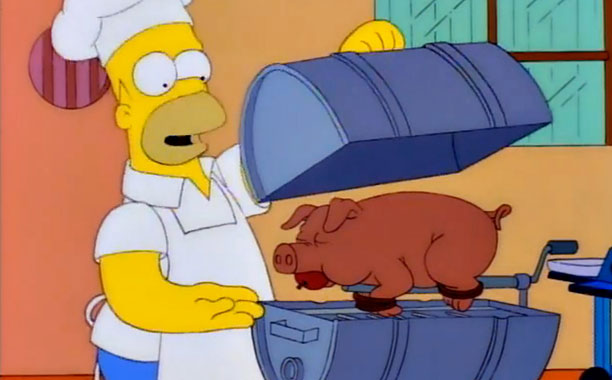 Simpsons BBQ