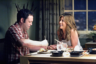 Aniston was fresh off her divorce from Brad Pitt when she hooked up with Vince Vaughn, who coincidentally costarred with Pitt in Mr. and Mrs.…