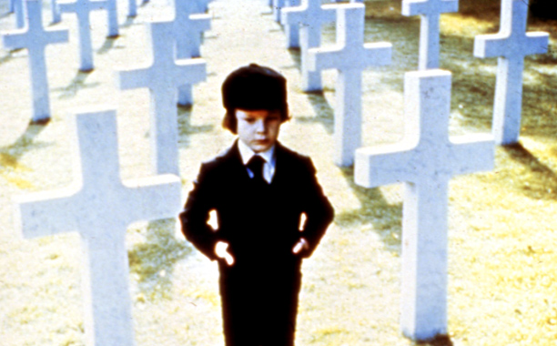 The Omen (Movie - 1976), Harvey Stephens | Director: Richard Donner Someday, an enterprising film student will write a master's thesis on why the Nixon-Ford era spawned the cinematic unholy trinity of Rosemary's…