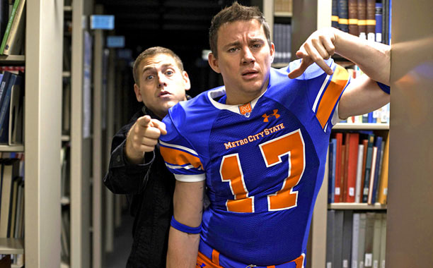 SEQUEL...OR REMAKE? 22 Jump Street will look very familiar to fans of the first time Channing Tatum and Jonah Hill teamed up