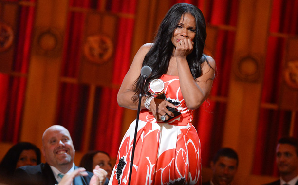 Tony Awards | HIGHLIGHT: Audra McDonald gets a standing O for her record breaking win for Best Actress in a Play for Lady Day at Emerson's Bar and…