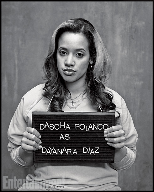 Orange Is the New Black | Played by: Dascha Polanco Rap Sheet: Still hiding her pregnancy after her taboo tryst with CO Bennett (Matt McGorry). On the Outside: Between takes, Polanco…