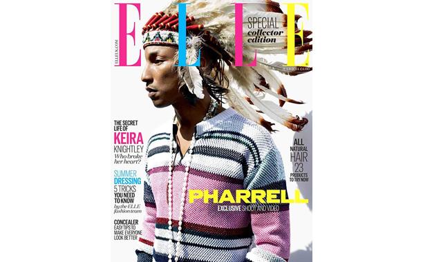 Elle Magazine Pharrell