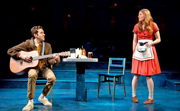 FLY BY NIGHT Adam Chanler-Berat and Allison Case