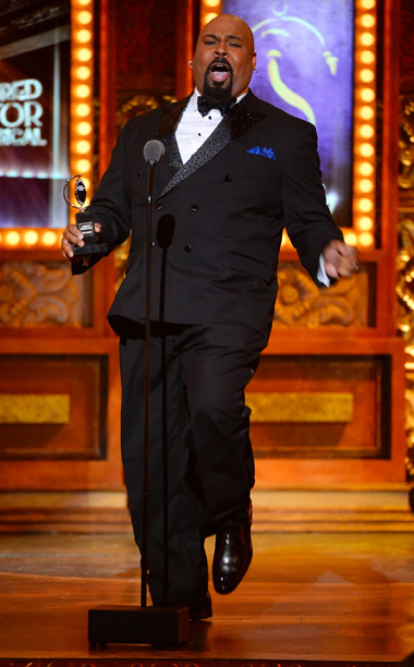 Tony Awards | HIGHLIGHT: James Monroe Iglehart's praise shout and happy dance. ''I know this is supposed to be the most dignified awards show of the season, but…
