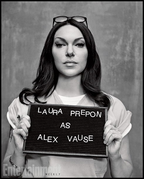 Orange Is the New Black | Played by: Laura Prepon Rap Sheet: Piper's drug-smuggling ex-girlfriend whose testimony led to Piper's arrest. On the Outside: Prepon originally auditioned for Piper, but Kohan…