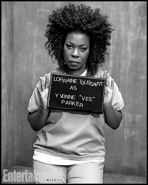 Orange Is the New Black | Played by: Lorraine Toussaint Rap Sheet: The arrival of this drug peddler (and former inmate) serves up a dose of harsh prison reality for Taystee…