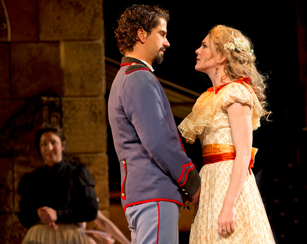 MUCH ADO ABOUT NOTHING Hamish Linklater and Lily Rabe