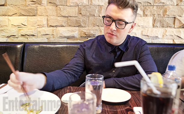 Sam Smith | Smith grabs sushi before a routine checkup with his throat doctor. ''I don't want to stop recording and touring. Unless I fall in love—that would…