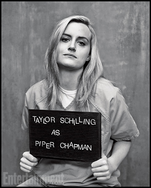 Orange Is the New Black | Played by: Taylor Schilling Rap Sheet: WASPy New Yorker sentenced to 15 months in prison for smuggling drug money. On the Outside: Though she's the…