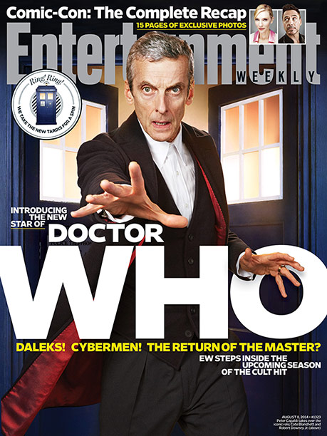 Doctor Who, Peter Capaldi | For more inside info on Peter Capaldi's Doctor takeover, pick up a copy of this week's EW or buy it here .