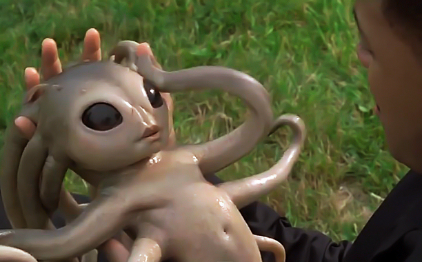 This octo-baby barfed all over Will Smith. And it never made another movie. Coincidence?