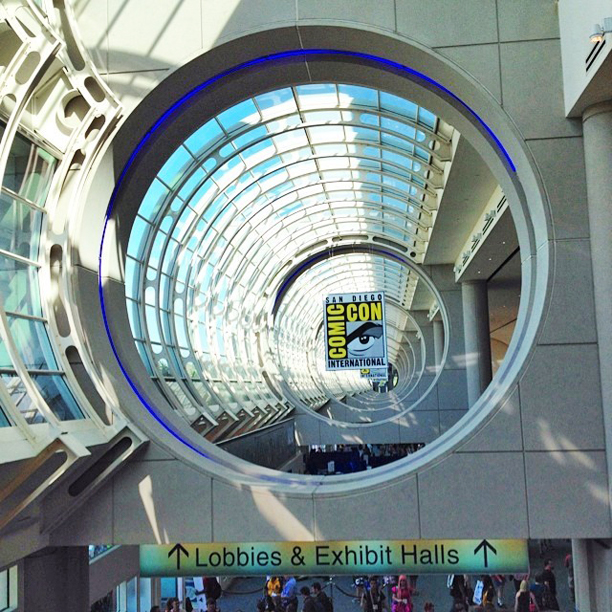 Eye on the prize at Comic-Con 2014