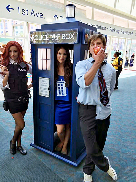 Doctor Who's TARDIS takes many (lovely) forms