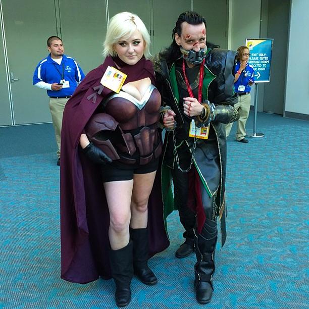 Magneto and Loki