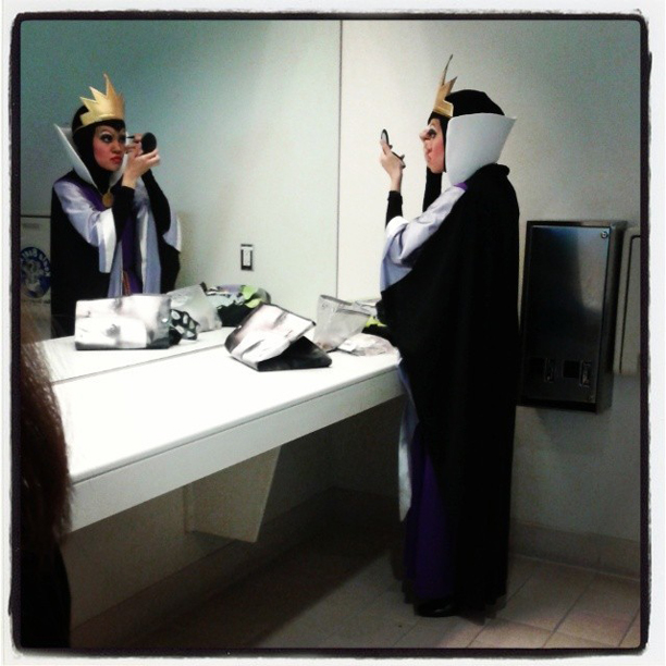 Mirror, mirror on the wall...why it's the Evil Queen from Snow White getting dolled up