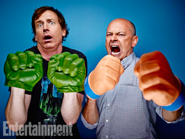 Rob Huebel and Rob Corddry, Childrens Hospital