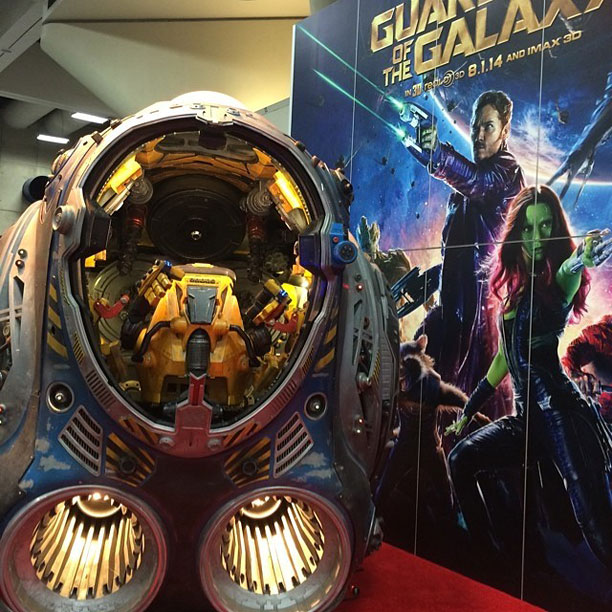 Guardians of the Galaxy has landed