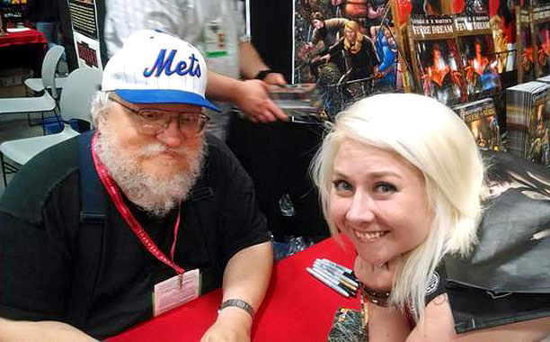 George R.R. Martin meets and greets